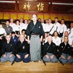 Group photo with Grand Master Kimura at Jikkokyo Nagoya Kyokai 141007